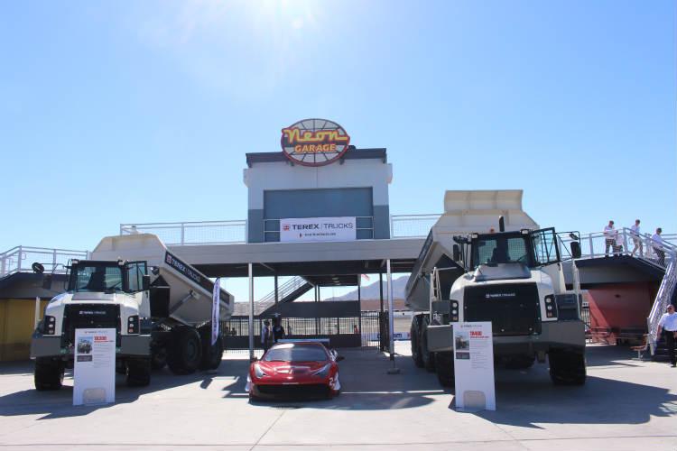 Terex Trucks' Gen10 takes pole position in Las Vegas