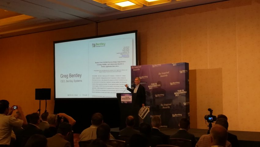 Bentley presents at The Year in Infrastructure 2017 New CONNECTservices
