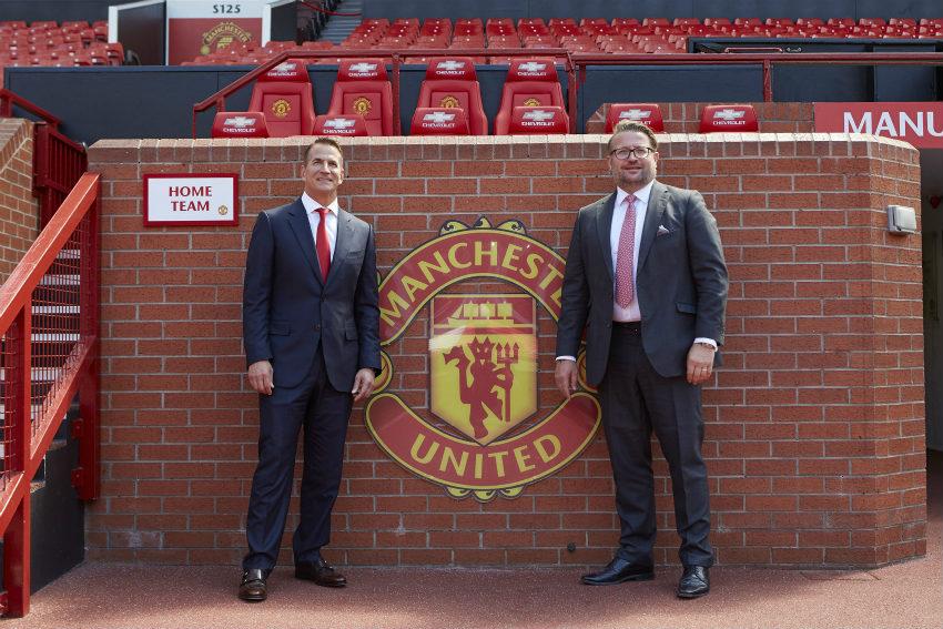 Kohler Co. unveiled as principal partner of Manchester United