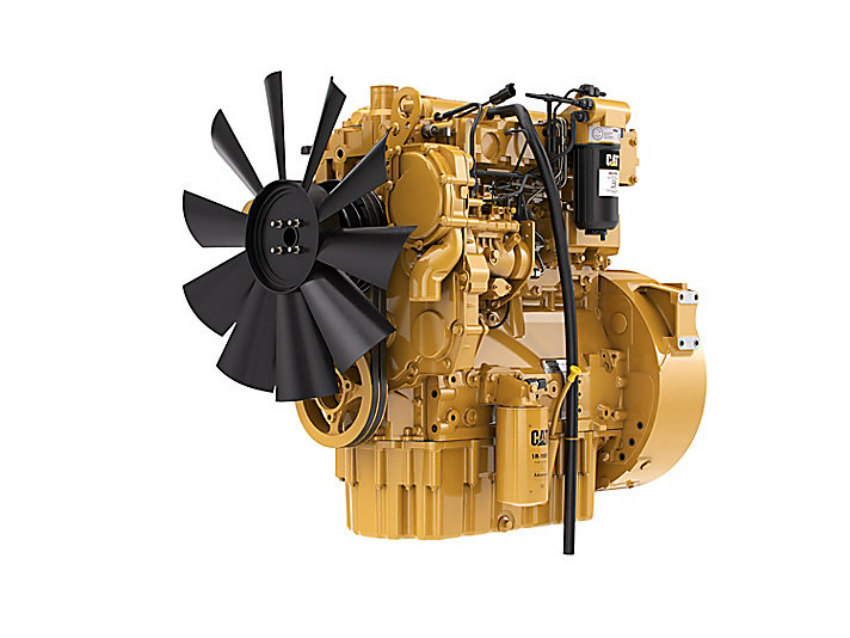 New Cat C4.4 engine delivers more power and torque in a compact package