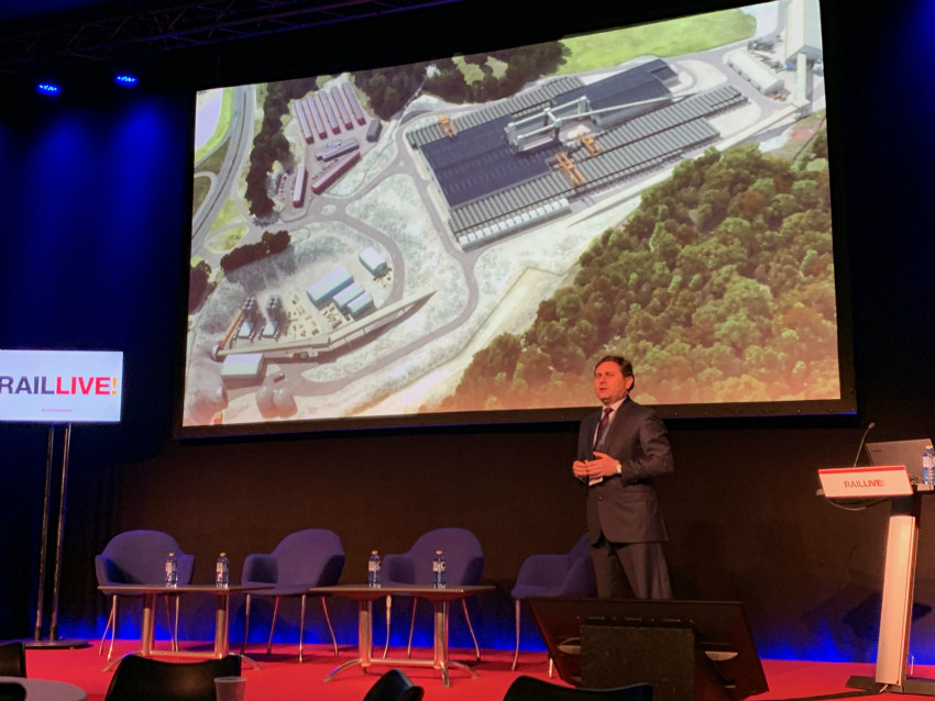 Follo Line project presented at Rail Live 2019 held in Bilbao