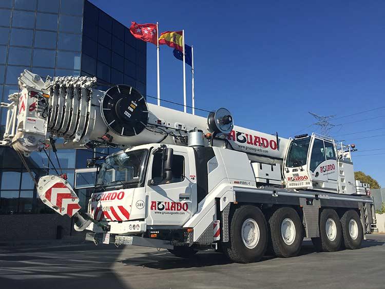Four GMK4100L-1 all-terrain cranes complete Spanish rental fleet
