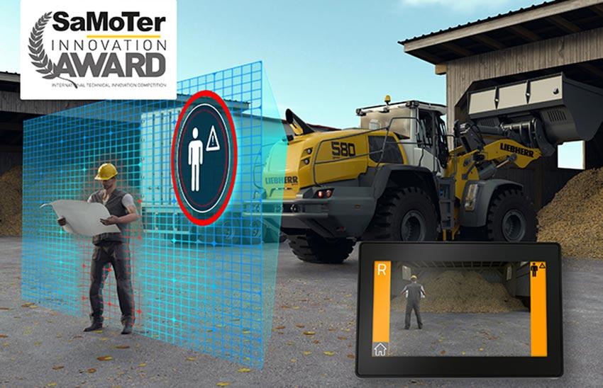 Liebherr wheel loader at Samoter: Innovation Award