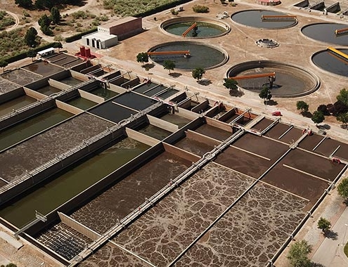 ACCIONA in two wastewater treatment plants in Madrid