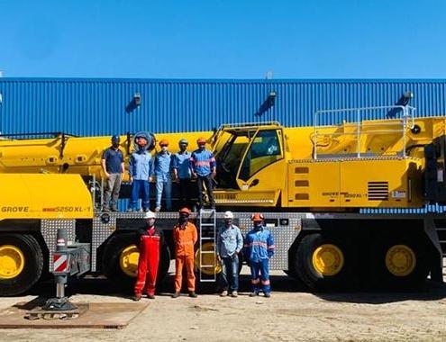 Sistermi bolsters fleet with Brazil's first Grove GMK5250XL-1