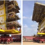 ALE safely transports 1.293 ton petrochemical module