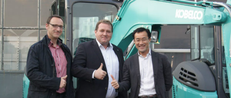 German network expansion for Kobelco