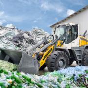 Liebherr all round wheel loader recycling