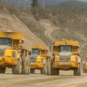 Volvo haulers dig deep at Chinese phosphate mine