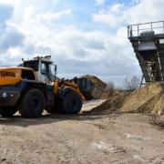 New first three L 566 XPower® wheel loaders delivered to RBS Kiesgewinnung GmbH & Co. KG in Hamburg