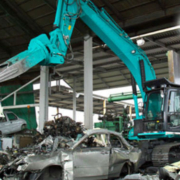 Kobelco to demonstrate recycling credentials at Donington Park Circuit