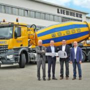 Liebherr hands over its 90,000th truck mixer