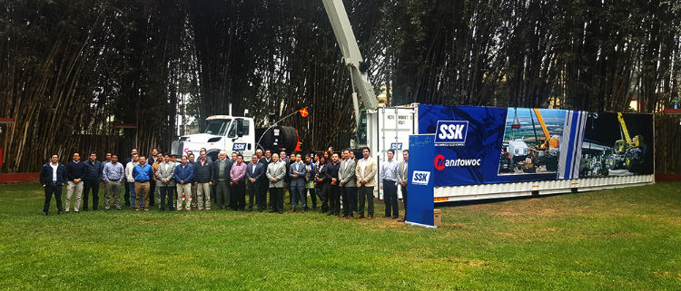 Manitowoc and SSK hold event to strategize over Peru's crane market