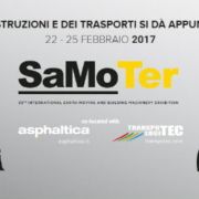 Earth Moving Machinery: the TOP companies choose SaMoTer 2017