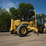 New Cat 14M3 Motor Grader has larger engine, increased fuel efficiency and enhanced features for performance, durability and safety