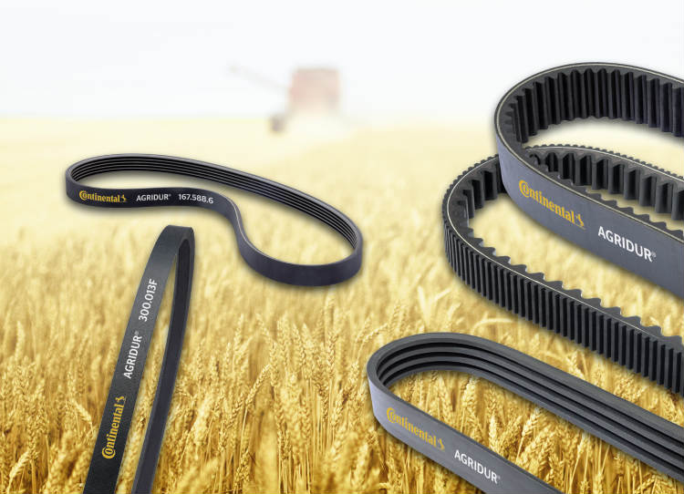 Continental Expands Product Portfolio for Agribusiness by New Drive Belts for Farm Machinery