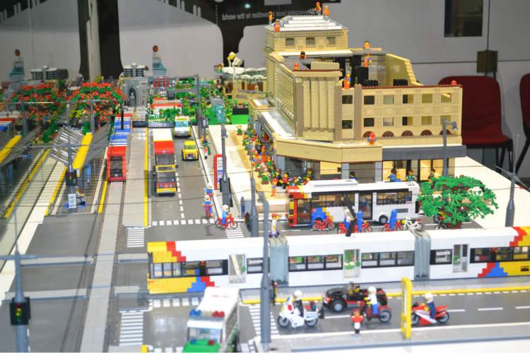 Lego city models smart technology