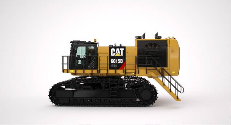 Caterpillar extends large machine options to include frontless hydraulic shovels