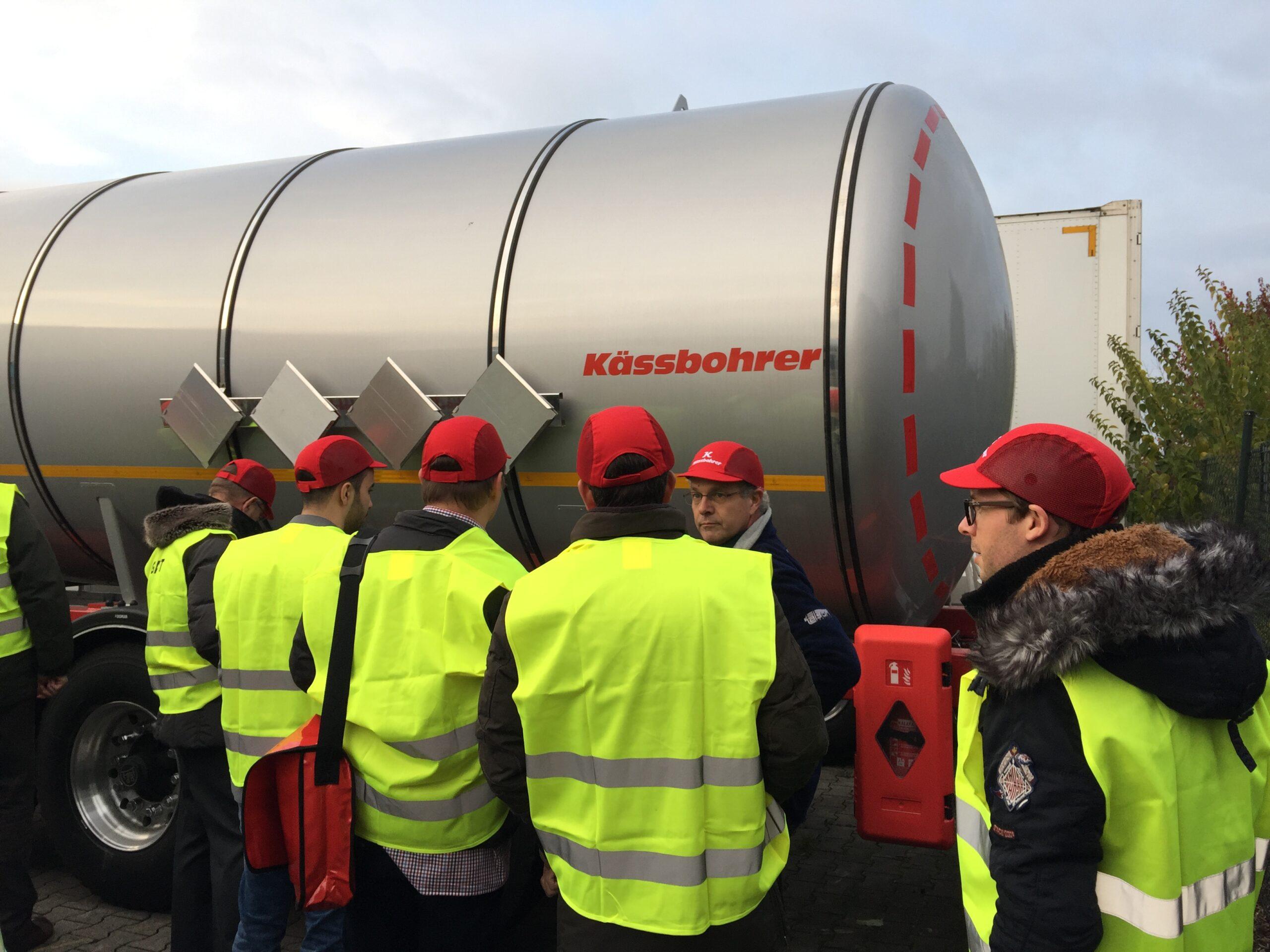 Lower Rhine Chamber of Industry and Commerce visit Kässbohrer