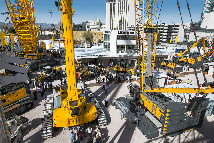 Liebherr's participation at Conexpo Con/Agg 2017