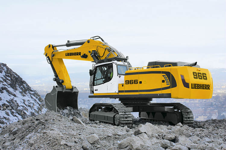 The Liebherr R 966 Crawler Excavator for the Chinese Market