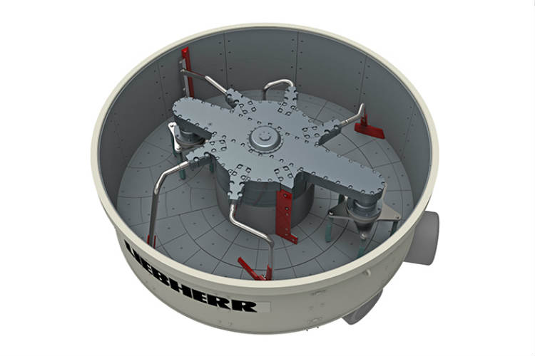 New Ring-pan Mixer for Highest Concrete Qualities