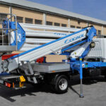 Double articulated aerial working platform forSte 25D – E