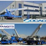 SOCAGE acquires MANOTTI AUTOGRU (auto-cranes)