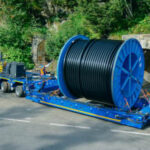 Wassermann Gruppe successful with SCHEUERLE InterCombi cable drum transporter