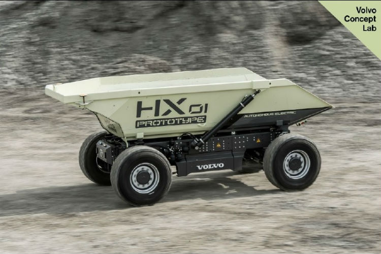 The electric load carrier HX1 wins Swedish quality innovation award