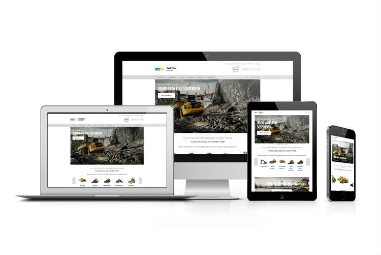 Volvo CE launches new global website
