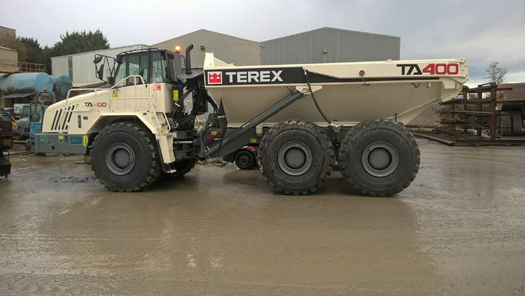 Terex Trucks' TA400 shows concrete performance in Northern Ireland