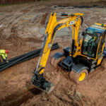JCB Hydradig's Tier 4 Final engine update delivers fuel savings
