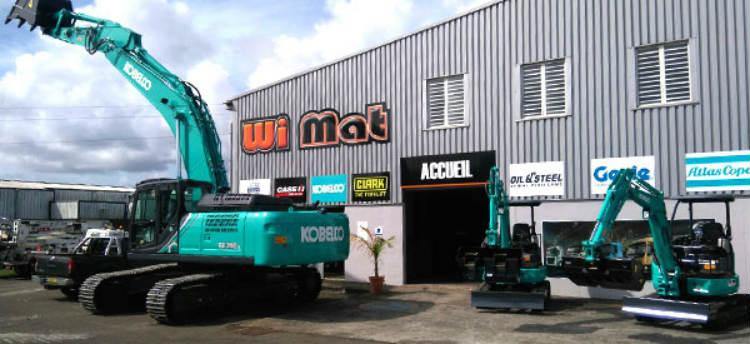 Kobelco appoints new dealer in the Caribbean: WiMat