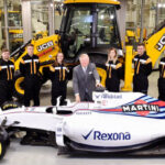 Williams Martini Racing partnership to help drive JCB sales