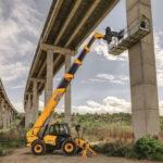 JCB offers extensive Loadall aerial work platform range
