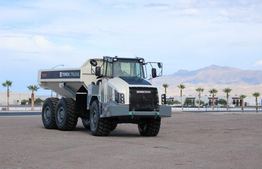 Terex Trucks' 28-tonne Gen10 TA300 heads to Steinexpo