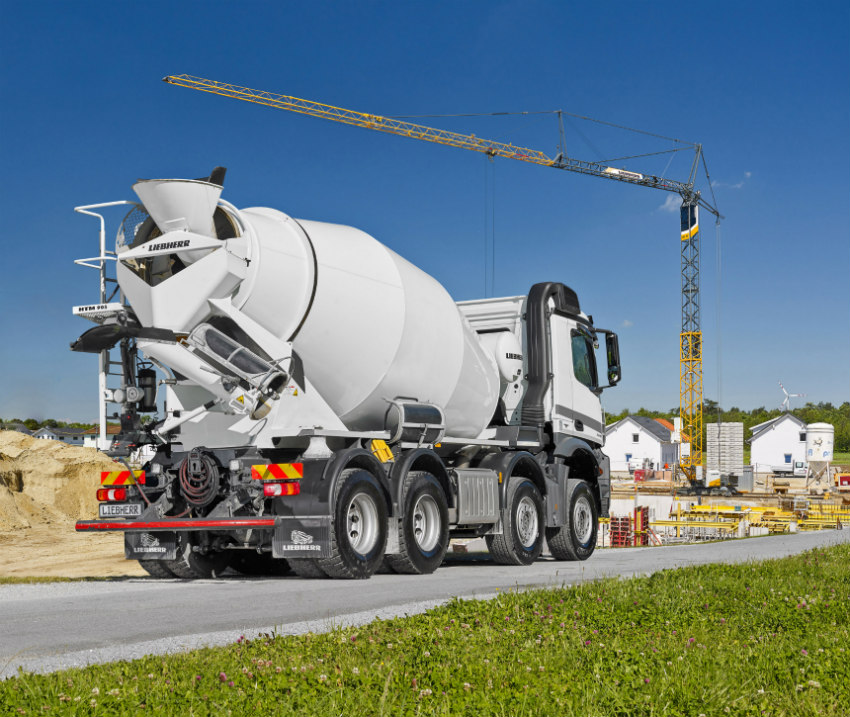 Liebherr started delivering the new truck mixer generation 05