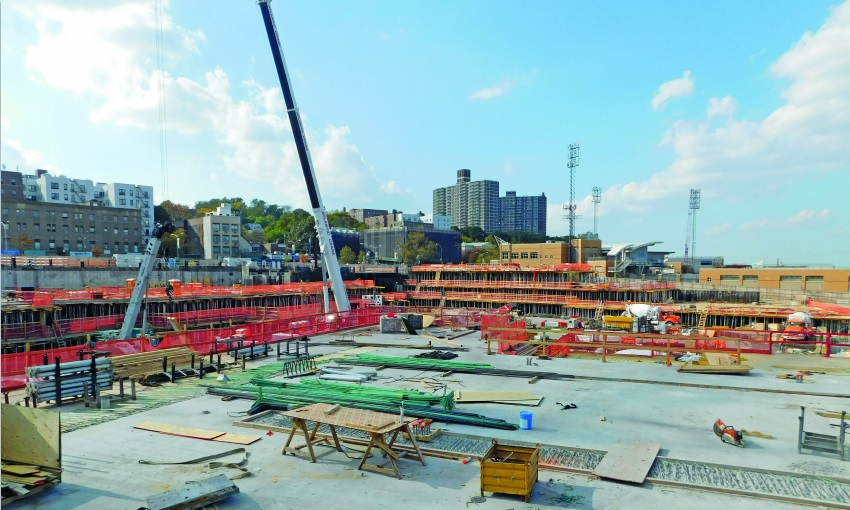 ULMA takes part on the construction project of the Empire Outlets in New York
