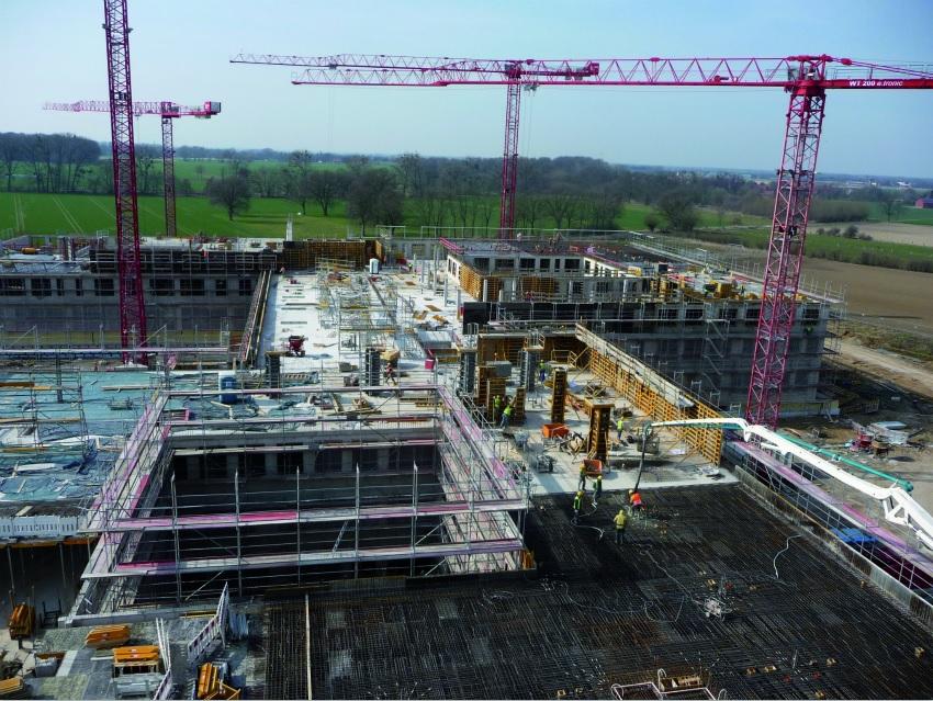 Schaumburg Clinic construction project undertaken by ULMA
