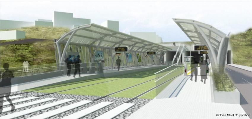 Ankeng Light Rail Transit (LRT) project in Taiwan