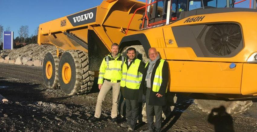 CECE Secretary General visits Volvo CE facilities in Eskilstuna