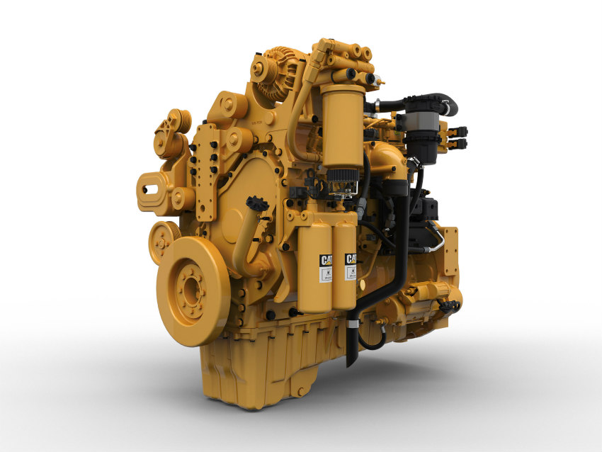 Caterpillar expands its industrial engine range with new 9.3 liter offering