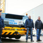 250th Liebherr MK 88 mobile construction crane goes to BKV