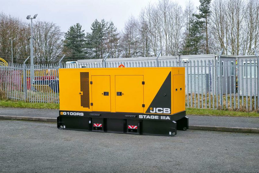 JCB generators for the power generation rental market