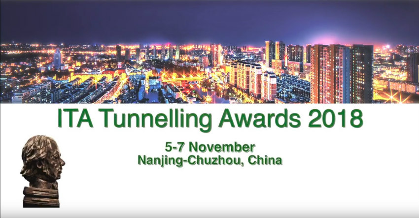 2018 ITA Tunnelling and Underground Space Awards Winners