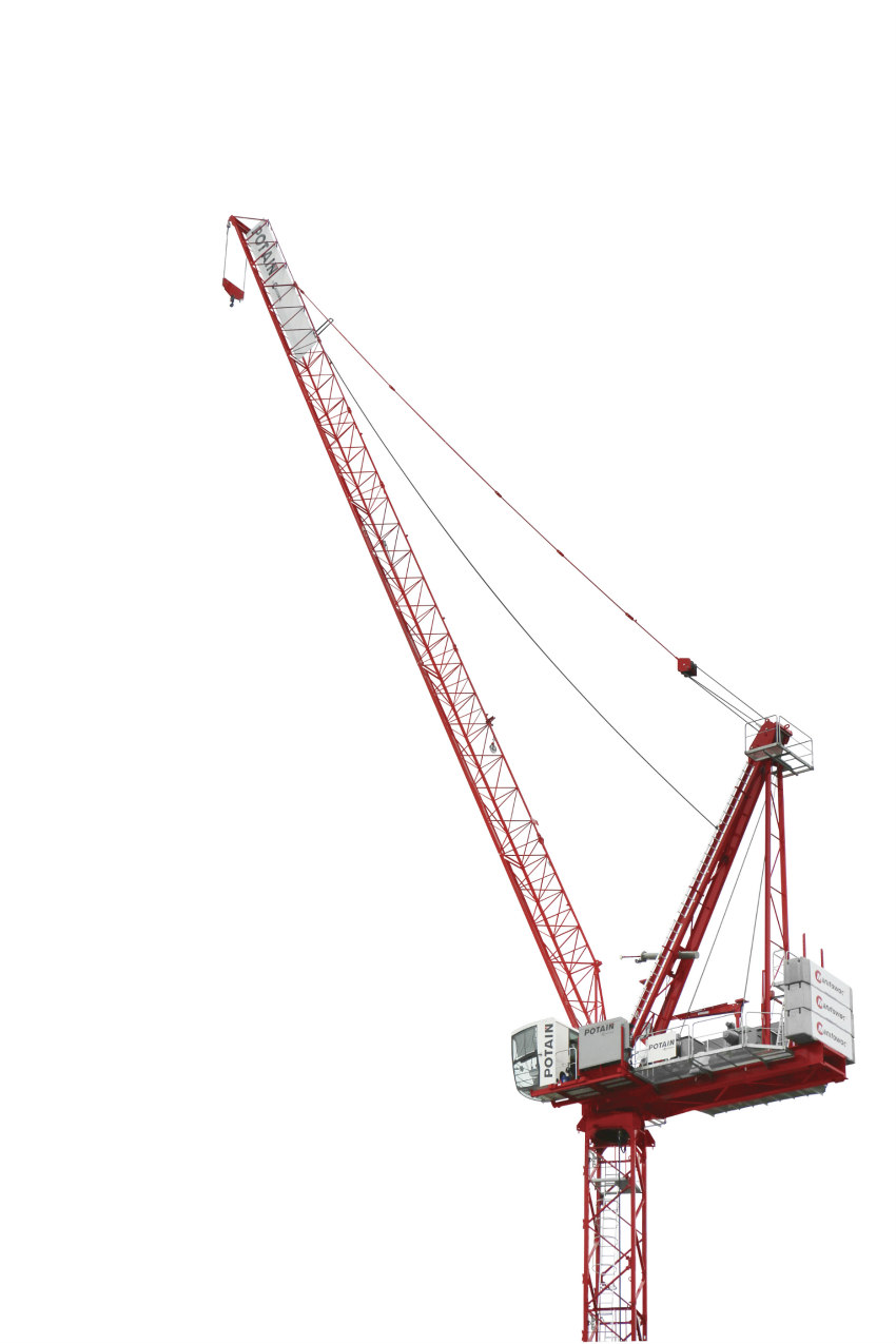 Potain MR 160 C tower crane makes its North American debut at Manitowoc's Crane Days