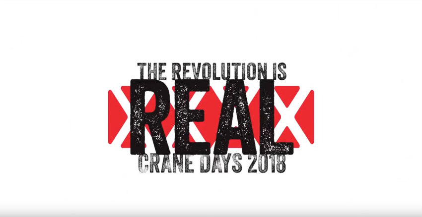 Manitowoc shows that The Revolution is Real with Crane Days 2018 video recap
