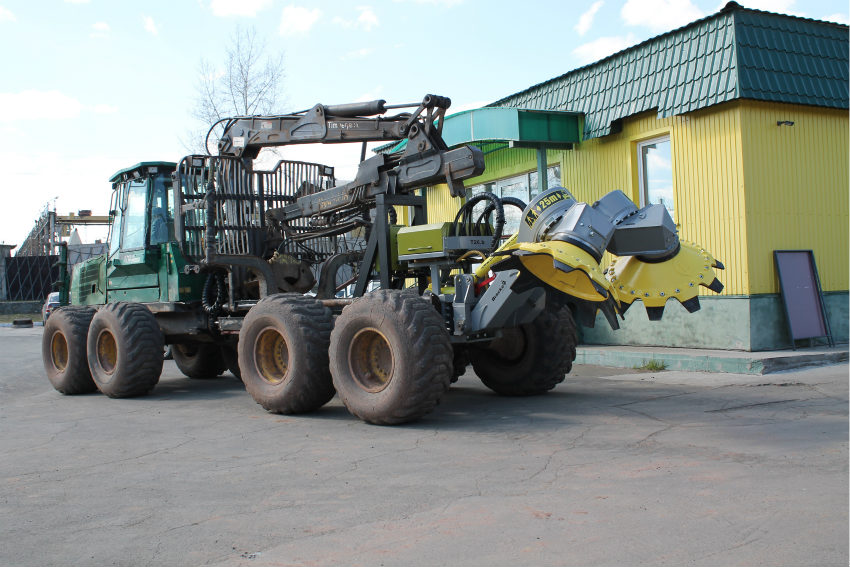 The Swedish company Bracke forest products take root in Siberia