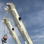 Italian contractor taps Grove RT550E rough-terrain cranes for tight petrochemical work